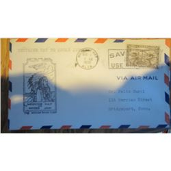 1930 First Day Air Mail Cover (RARE)