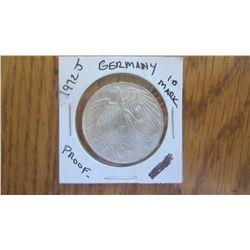 1972-J Germany 10 Mark
