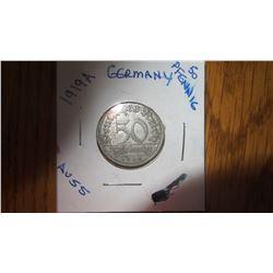 1919-A Germany 50 Pfennig
