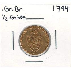 1794 Great Britain Gold Coin