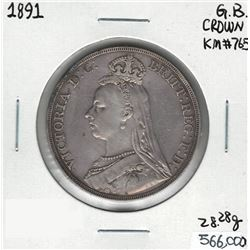 1891 Great Britain Crown