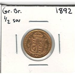 1892 Great Britain Gold Coin