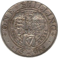 1896 Great Britain Shilling