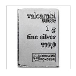 1 Gram Silver bar