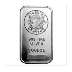 1oz Silver Bar