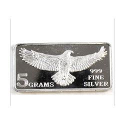 5 Gram Silver Bar