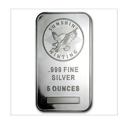 5oz Silver Bar