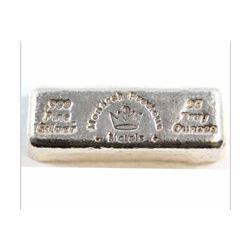 25oz Silver Bar