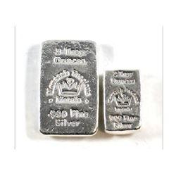 2oz and 3oz Silver Bar Set