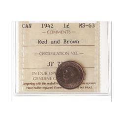 1942 Canada 1 Cent