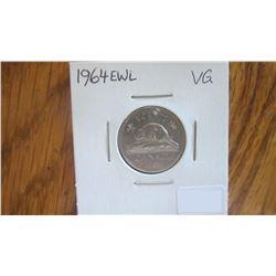 1964-EWL Canada 5 Cent