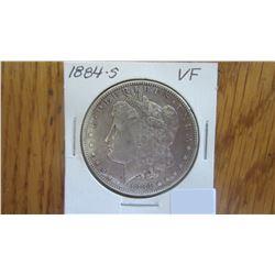 1884-S USA 1 Dollar