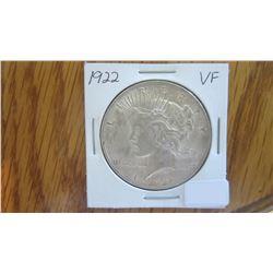 1922 USA 1 Dollar