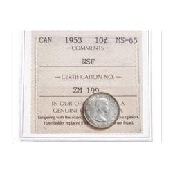 1953 Canada 10 Cent