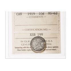 1919 Canada 10 Cent