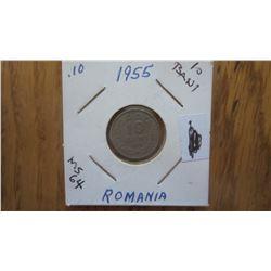 1955 Romania 10 Bani
