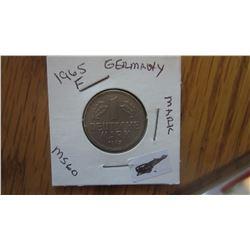 1965-F Germany 1 Mark