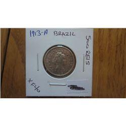 1913-A Brazil 500 Reis
