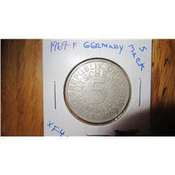 1969-F Germany 5 Mark