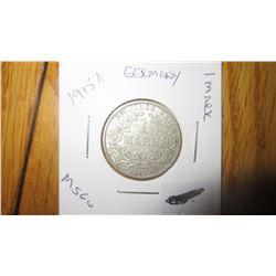 1915-A Germany 1 Mark