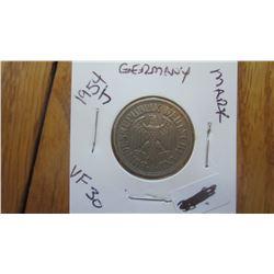 1954-J Germany 1 Mark