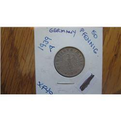 1939-A Germany 50 Pfennig