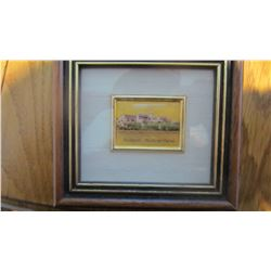 24kt Gold Leaf Pictures in Frame