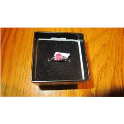 18kt Gold Ruby Ring