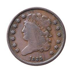 1835 USA 1/2 Cent
