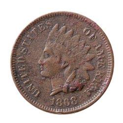 1868 USA 1 Cent