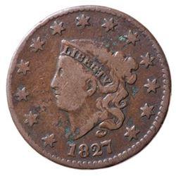 1827 USA 1 Cent