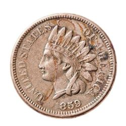 1859 USA 1 Cent
