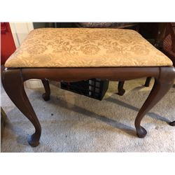 UPHOLSTERED DRESSING TABLE STOOL
