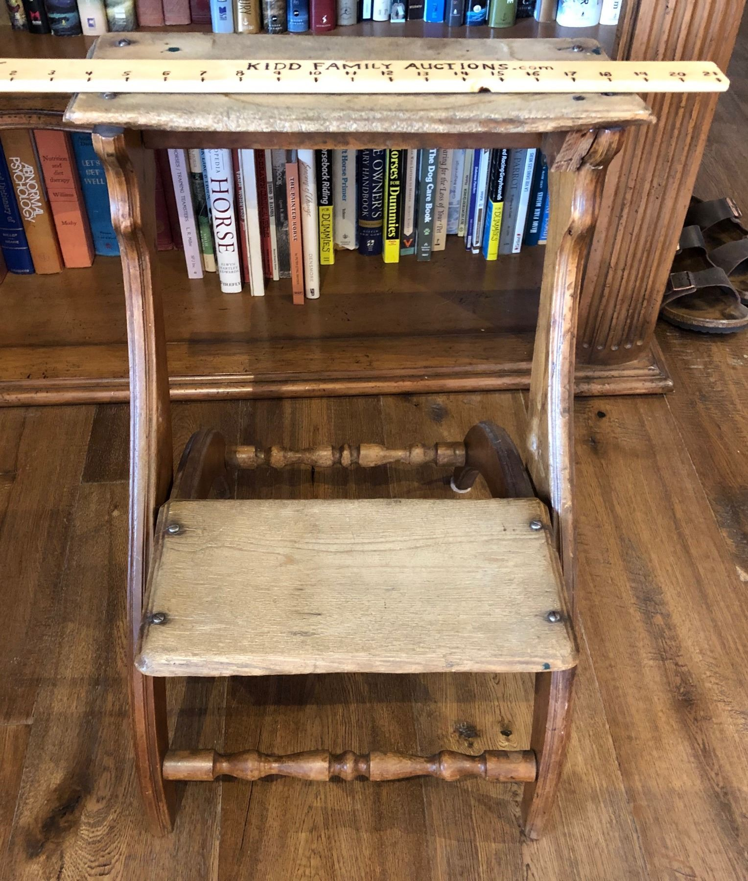Pleasing Antique Wood Step Stool Ibusinesslaw Wood Chair Design Ideas Ibusinesslaworg