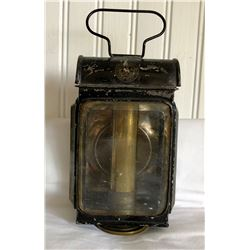 ANTIQUE CARRIAGE LAMP - S MAW SON & SONS LONDON