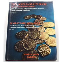 Calicó: The «ONZA» Main Book - Spain, Provinces and Independent Republics of America - Counterstamps