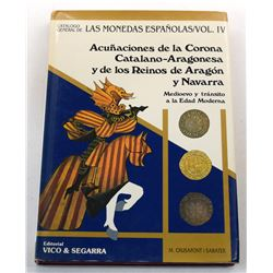 Crusafont | Sabater: Acuñaciones de la Corona Catalano-Argonesa y de los Reinos de Aragón y Navarra
