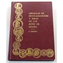 Herrera: Medallas de Proclamaciones y Juras de los Reyes de España