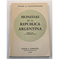 Multiple Book Lot (14): (Signed) The Coinage of Argentina