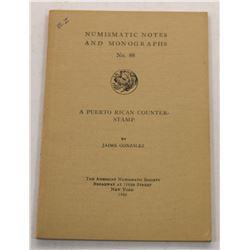 Multiple Book Lot (5): Puerto Rican Numismatics