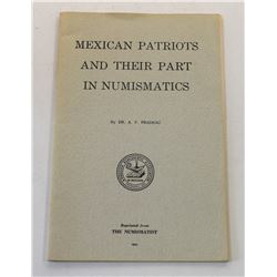 Multiple Book Lot (6): Numismatic Journal Reprints on Mexican Coin Topics