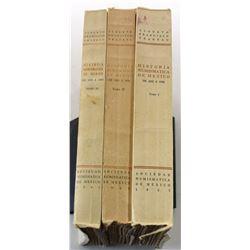 Pradeau: Historia Numismatica de Mexico de 1823 a 1950, Volumes 1 through 4