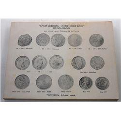 Robles de la Torre: Monedas Mexicanas 1536-1966