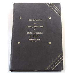 Rosa: Coleccion de Leyes, Decretos y Otros Documentos sobre Condecoraciones Militares, Medallas comm