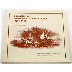 Rudman: (Signed) 200 Años De Numismatica Haitiana 1781-1981
