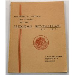 Sanchez: Historical Notes on Coins of the Mexican Revolution 1913-1917
