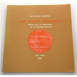 Schaffino: Las Fichas Peruanas (2 editions)