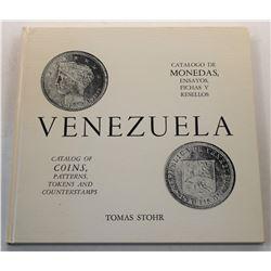 Stohr: Catalogo de Monedas, Ensayos, Fichas y Resellos de Venezuela
