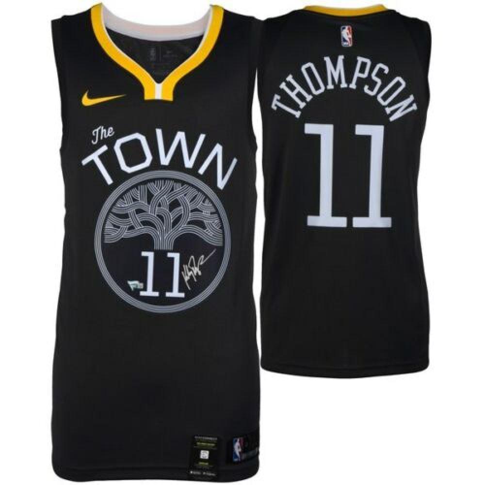 brand new 56170 067de Klay Thompson Signed Warriors