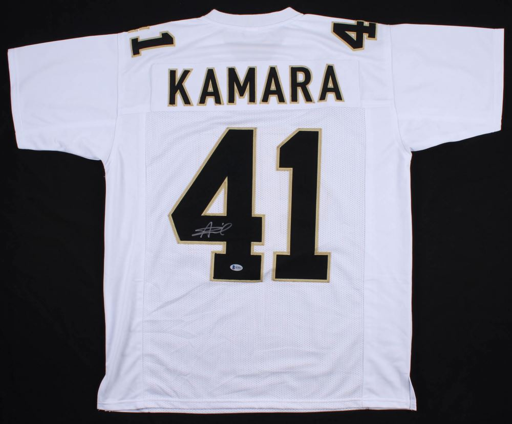wholesale dealer be938 5b8e6 Alvin Kamara Signed New Orleans Saints Jersey (Beckett COA)